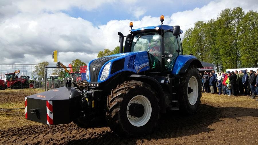Traktordiena 2015 New Holland