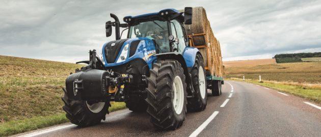 New Holland inteliģentā piekabes bremzēšanas sistēma nodrošina klasē lielāko drošību un stabilitāti T7 un T6 AutoCommand traktoriem