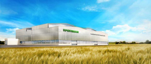 PÖTTINGER uzsāk jau ceturtās rūpnīcas būvniecību
